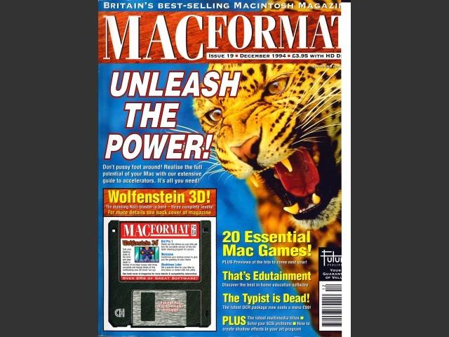 MacFormat 19 (Dec. 94) magazine & CD (1994)