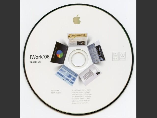 691-6065-A,1Z,iWork 08 v8.0. Install (CD) (2008)