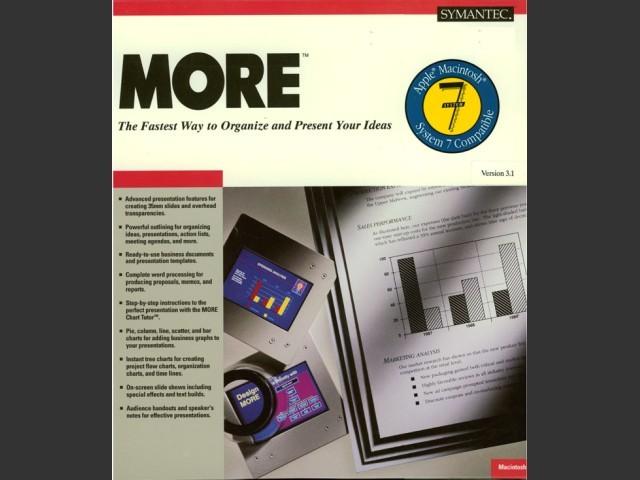 MORE 3.1 (1991)