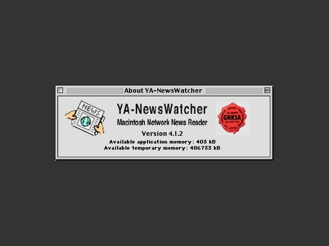YA-NewsWatcher (1994)