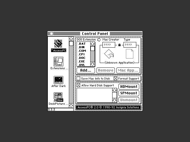 AccessPC 2.0 (1992)