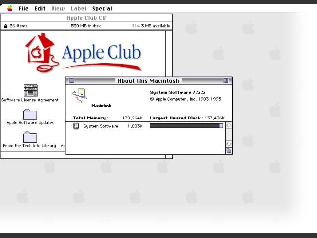 Apple Club CDs (1997)