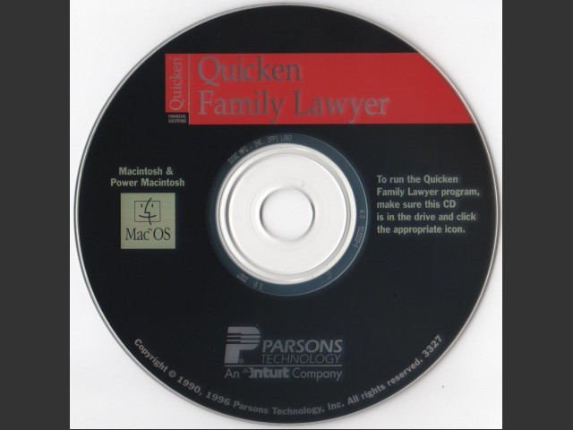 Quicken Family Lawyer (1996)