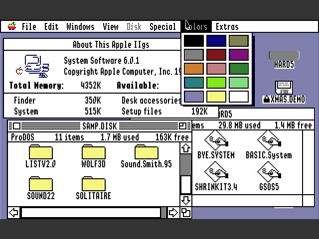 GS/OS for Apple IIgs (1987)