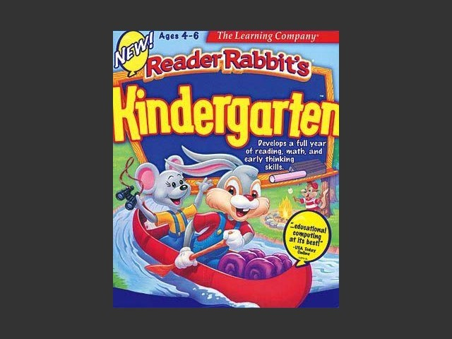 Reader Rabbit's Kindergarten (1997)