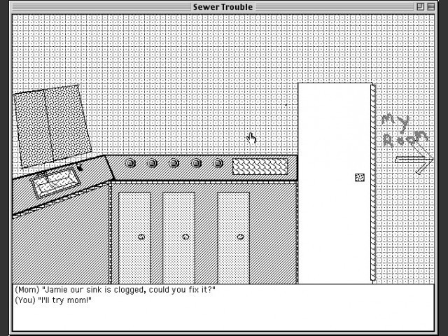 Sewer Trouble (HyperCard) (1995)