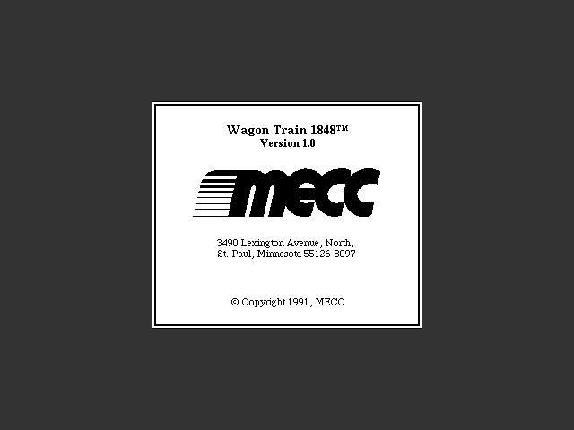 Wagon Train 1848 (1991)