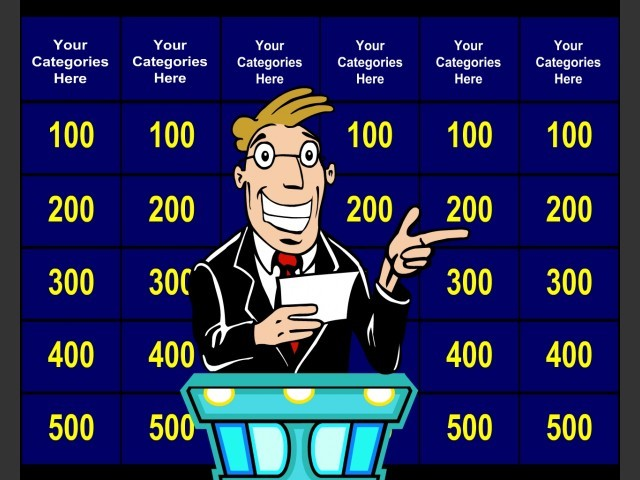 Create your own quiz shows for presentation quality fun in meetings and classes.