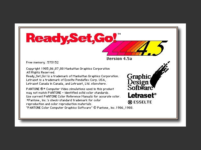 Ready,Set,Go! 4.5a (1988)