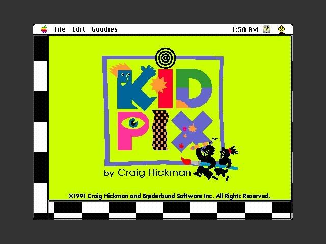 Kid Pix 1.2 (1991)
