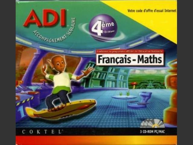 Adi 4 Français Maths Anglais 4ème (1998)