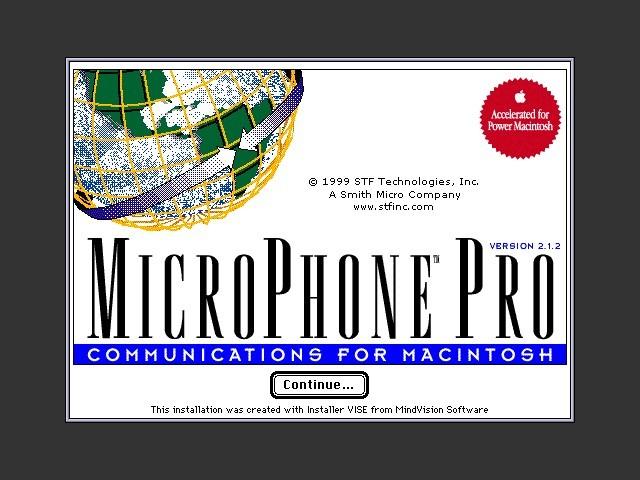 MicroPhone Pro Version 2 (1999)
