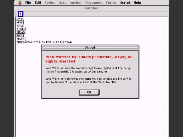 WebWarrior (1996)