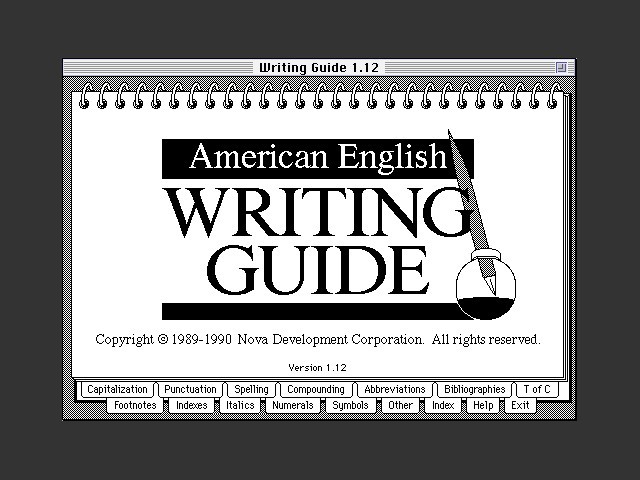 American English Writing Guide (1990)