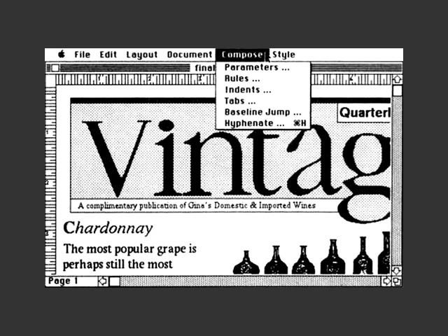 Typographer (1985)