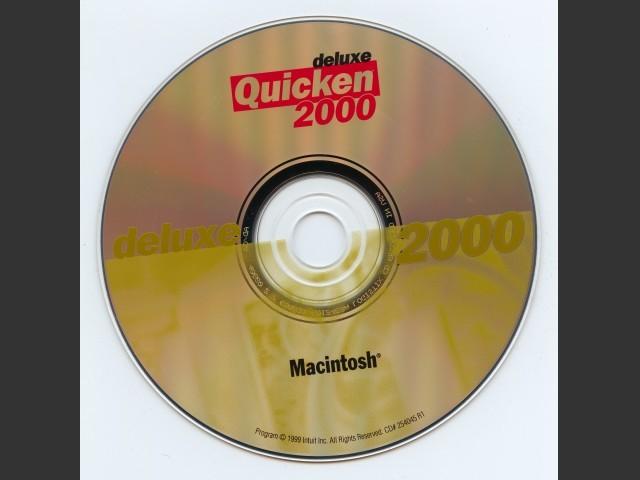 Quicken 2000 Deluxe (1999)