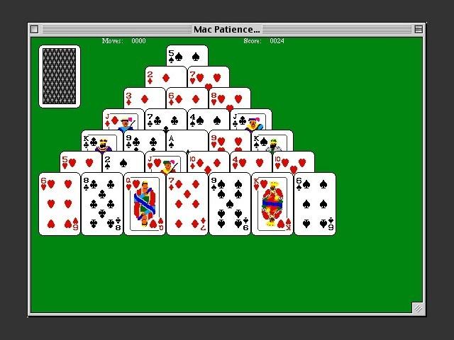 MacPatience Pyramid / Gameplay