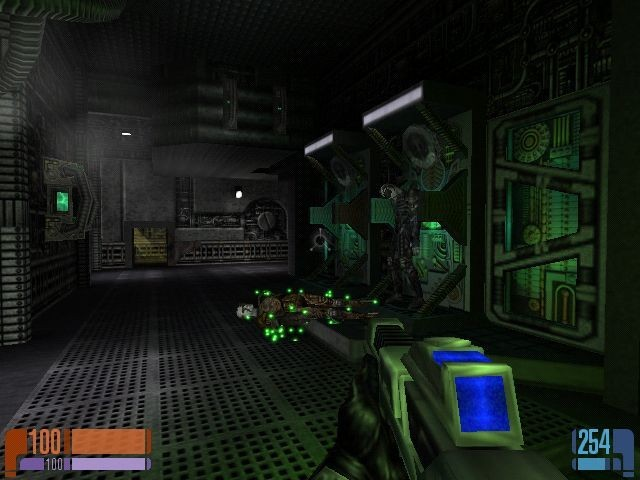 Yep, it's the Quake engine all right.