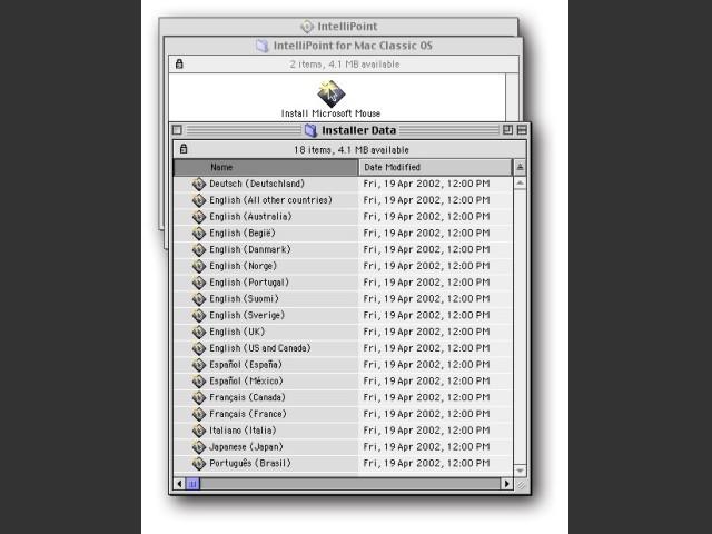 Microsoft IntelliPoint Mouse Drivers (2002)