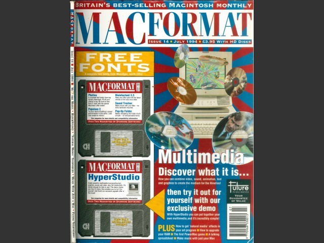 MacFormat 14 (July 1994) Magazine & Disks (1994)