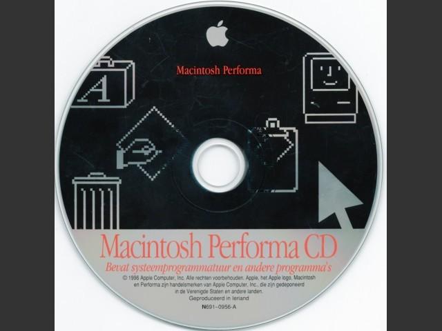 N691-0956-A Macintosh Performa system software (1996)