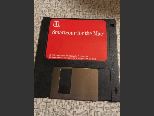 Smartcom for the Mac and Smartcom FAX Installer Disks (1993)