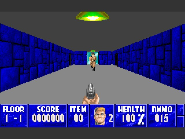 Wolfenstein 3D: Wolfenzoom (1994)