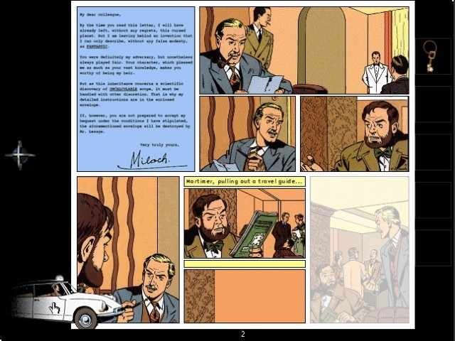 The Time Trap: The Interactive Adventures Of Blake & Mortimer (1997)