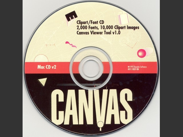Canvas Clip Art (1995)
