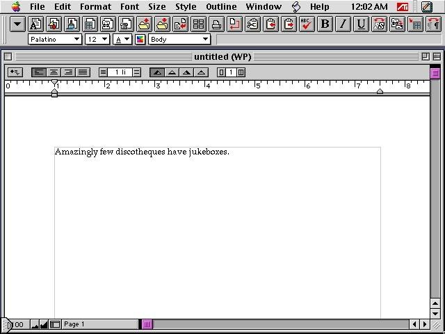 AppleWorks 5.0.x (1999)