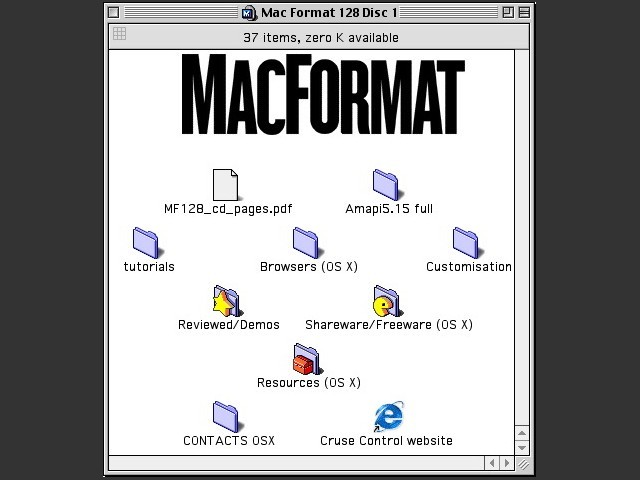 MacFormat CD # 128 (April 2003) (2003)