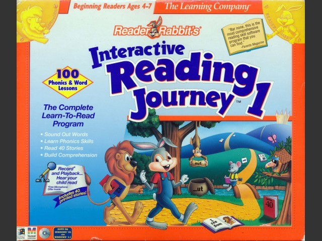 Reader Rabbit's Interactive Reading Journey 1 (1996)
