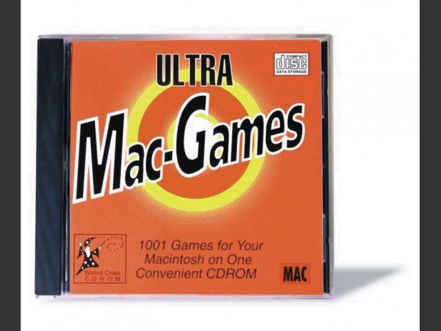Ultra Mac Games CD-ROM 1 & 2 (1994)