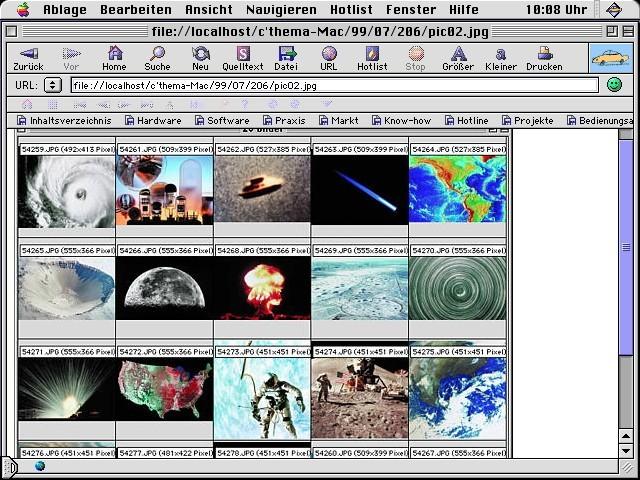 """""""C'thema 02 Mac"""" - Macintosh-related articles of German magazine """"c't"""""""