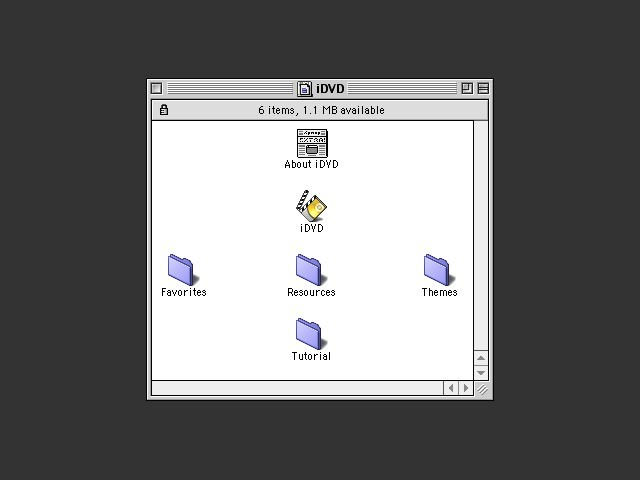 iDVD 1.0.1 (OS9) (0)