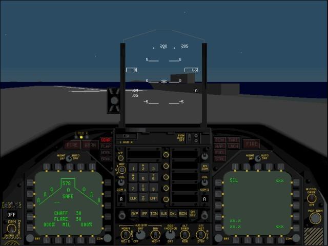 f/a 18 cockpit