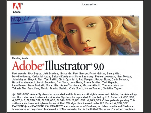 Adobe Illustrator 9 (2000)