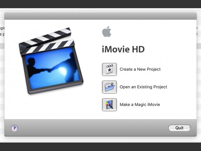 iMovie 6 HD 6.5.1 (2006)