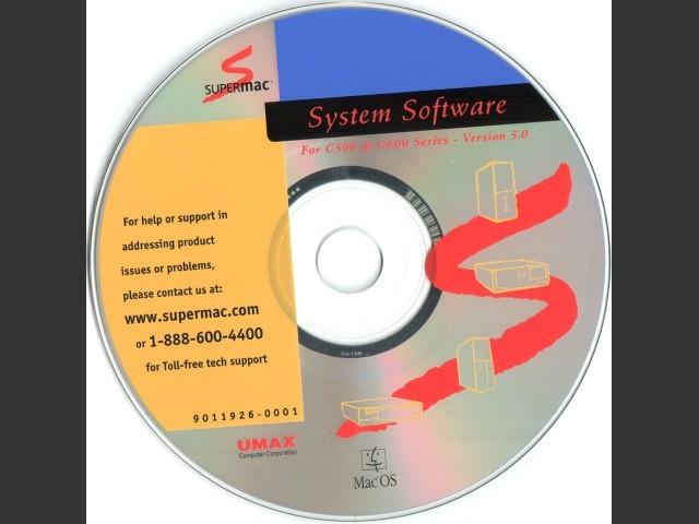 Disc Label (C500/C600 v5.0)