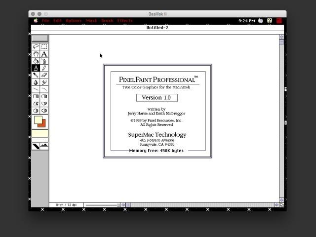 PixelPaint Professional 1.0 (1989)