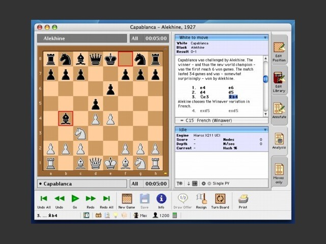Sigma Chess 6.0.3 (2002)