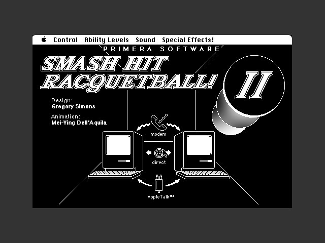 Smash Hit Racquetball (1987)