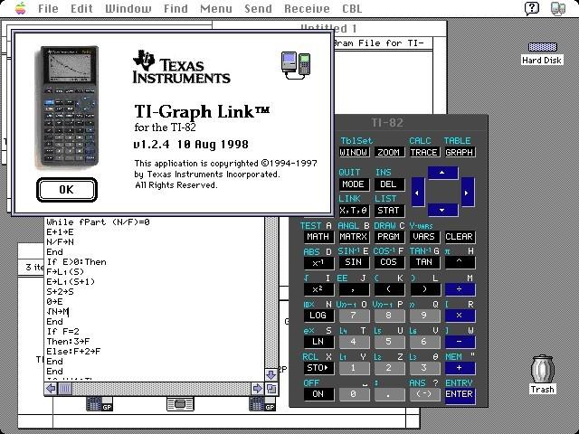 TI-Graph Link (82, 83, 85, 92) (1998)