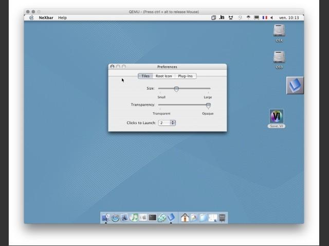 NeXbar 1.0b2 (2001)