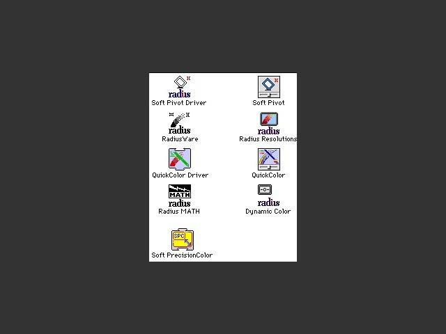 RadiusWare 2.2.1 (1993)