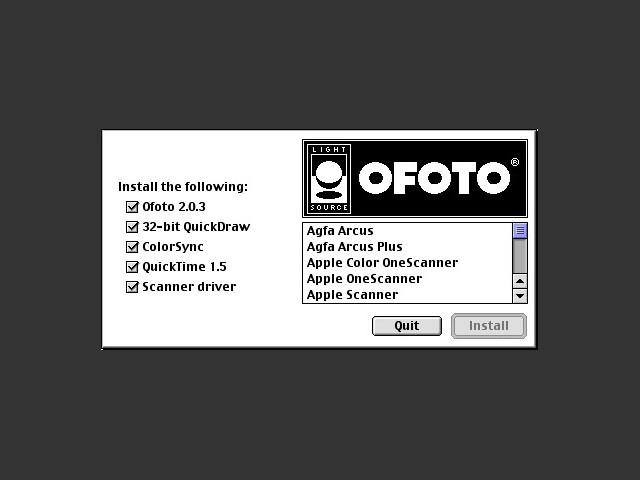 OFOTO 2.0.3 (1994)