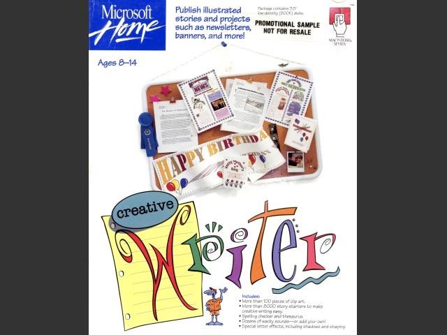 Microsoft Home Creative Writer (1993)
