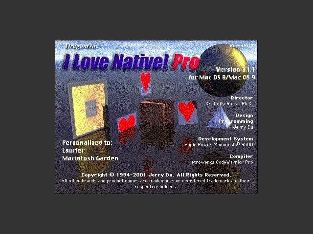 I Love Native! Pro v3.1.1 (2001)