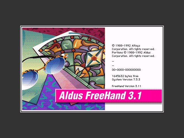 Aldus FreeHand (1988)