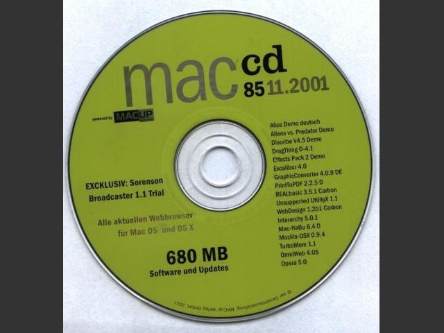 MACup macCD 85 (11.2001) (2001)
